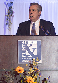 Tim Herman, CEO, Flint & Genesee Chamber of Commerce