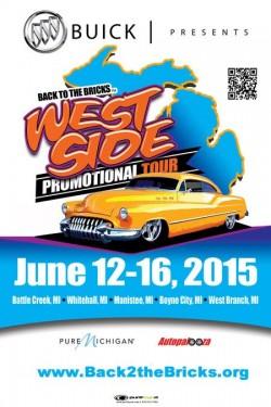 Events in Flint, MI, Back to the Bricks West Side Promotional Tour -  Flint & Genesee