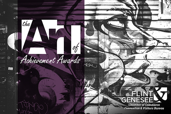 Art of Achievement Awards logo, Flint & Genesee Chamber of Commerce