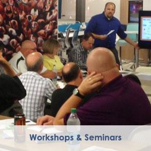 Business Development, Flint, MI, workshop photograph - Flint & Genesee