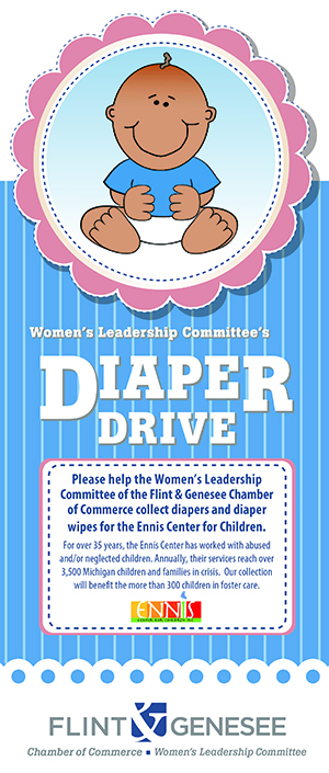 women u2019s leadership committee closes year with diaper drive