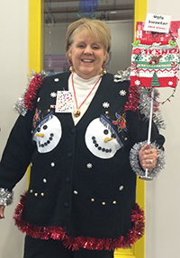 PTAC Ugly Sweater Networking event