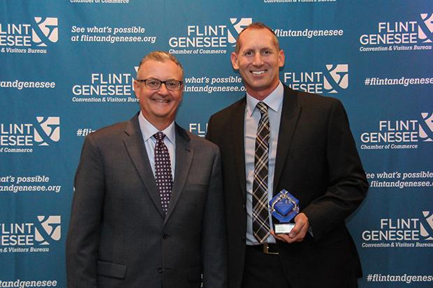 Flint & Genesee Convention & Visitors Bureau Community Champion